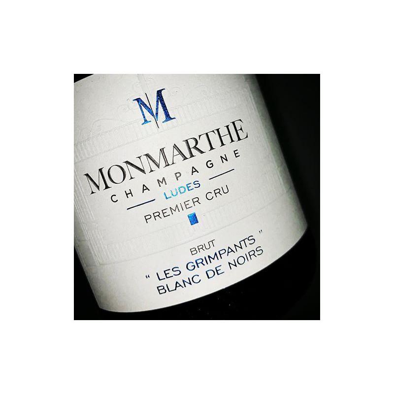 Image of   Monmarthe Les Grimpants Blanc de Noir Champagne Premier Cru