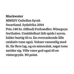 Blackwater Cultellus Syrah