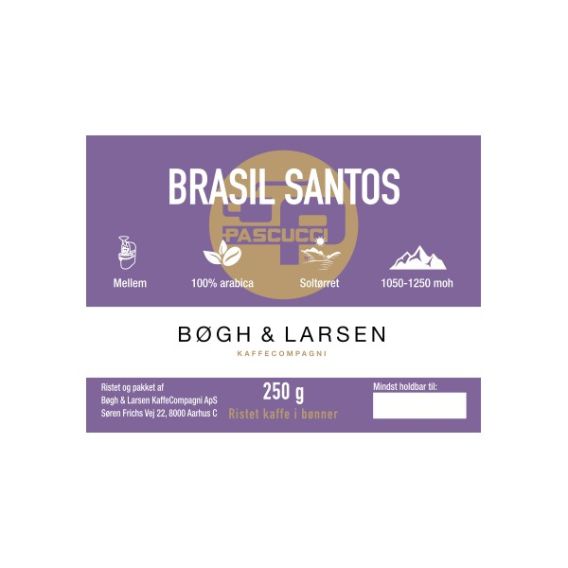 Pascucci Basil Santos (250 gr.)
