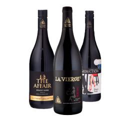 3 Pinot Noirs i gaveæske